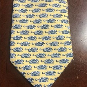 VINEYARD Vines 100%Silk print Jaguar